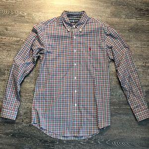 Ralph Lauren Tartan Plaid dress shirt